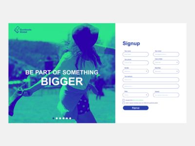 Gumboots global ui design