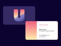 Utopic Design Business Card