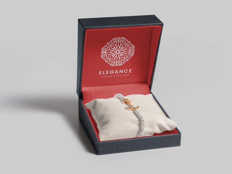 Jewelry Packaging Box Mockups [3] box design packaging mockup armlace jewely elegant logo mockup luxury packaging box mockup photoshop psd realistic mockups branding mock-up mockup