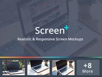 ScreenPlus - Realistic & Responsive Screen Mockups