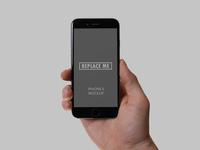 Handheld iPhone 6 Mockup