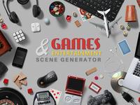 Games & Entertainment Scene Generator
