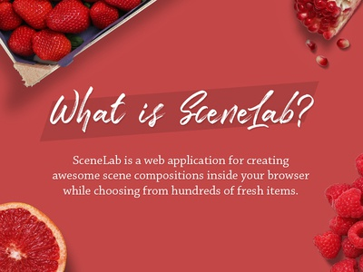 What is SceneLab ?