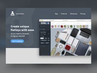 SceneLab Landing Page