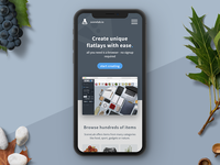 SceneLab Rensponsive Landingpage Design