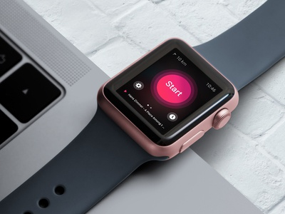 Customizable Smart Watch Mockup