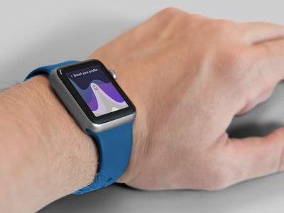 Realistic Smart Watch Mockup