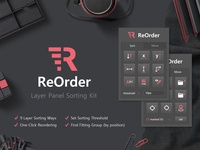 ReOrder - Layer Panel Sorting Kit