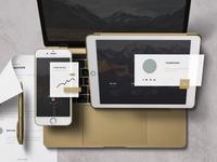 App / UI Kit Mockup 01