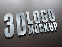 3D Logo Mockups Vol.2