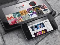 Tablet & Phone Mockups