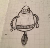 Sketching a new pal