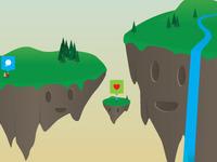 Neverused islands