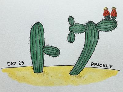トゲ Prickly