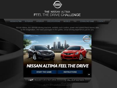 Nissan Altima Game Challenge