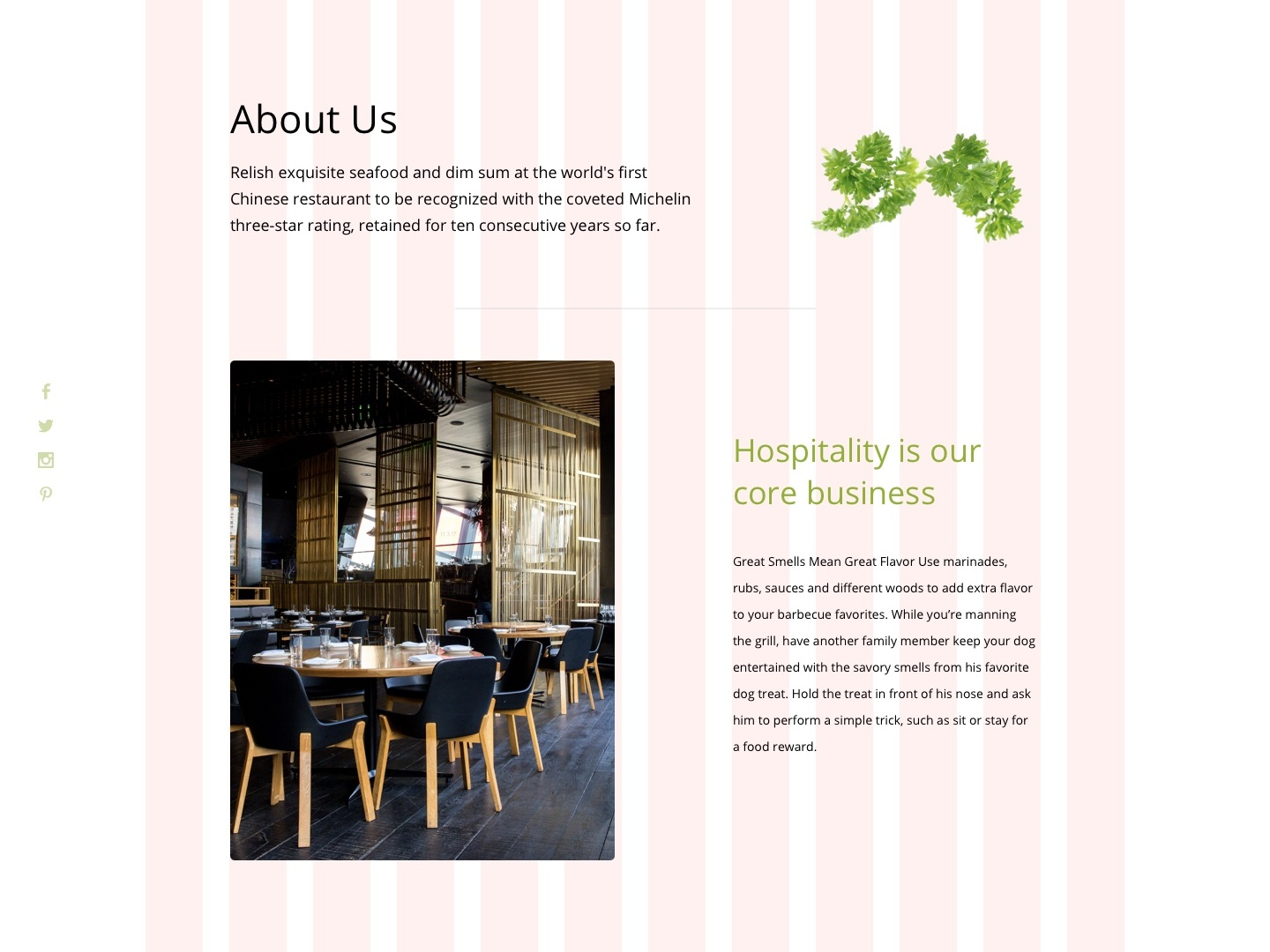 Fresh & Healthy Meals Restaurant website concept restaurant branding food and drink healthy gourmet fastfood web minimal design responsive layout ux branding ui typography wireframe design responsive responsive design website hotel restaurant fast food
