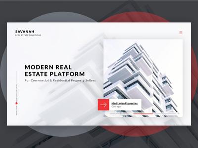 Real Estate Website - Concept