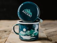 Mountain Scene pt. 3 - The Mugs