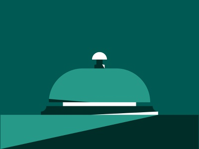 Bell Cover Graphic vector design minimalistic minimalism minimal negative space colour editorial design layout editorial layout editorial illustrator bell color illustration