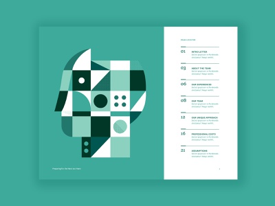 Table of Contents Concept typogaphy table of contents illustrator layout editorial illustration editorial art editorial design editorial