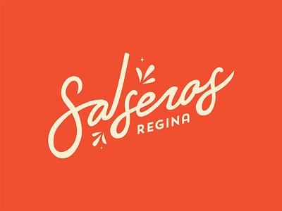 Salsa Logo - Option 2/2 flare dance style handlettering hand lettering latin salsa identity cuba cuban los angeles branding illustrator vector illustration