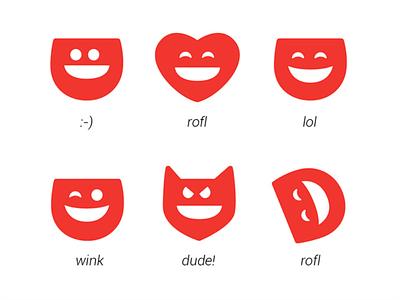 Dabkick Emojis icons emojis