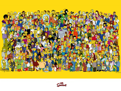 Simpsons Poster poster simpsons