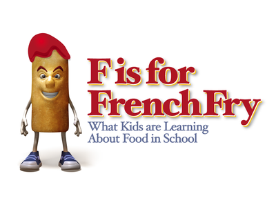 F is for French Fry french fry lunch