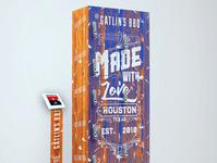 Gatling's BBQ creative illustrator design productdesign illustration graphicdesigner graphicdesign branding
