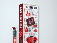 Gatling's BBQ creative newyork design illustration graphicdesigner graphicdesign illustrator branding