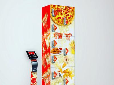 Gianelli's Pizza & Chicken Man emeralds logo artist productdesign creative newyork illustrator design illustration graphicdesigner graphicdesign branding
