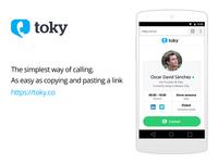 Toky Website