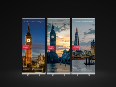 London Heights Banners
