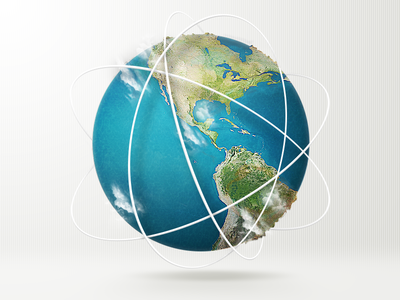 Default browser illustration icon earth illustration documents readdle planet browser