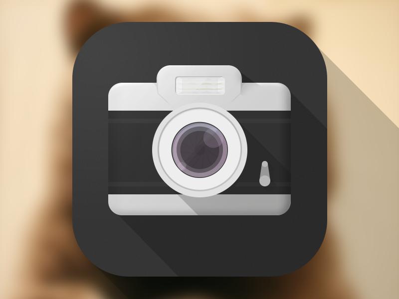 Camera  ios7 camera ios icon flat