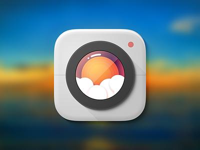 InstaSun app icon sun lens camera instasun ios icon