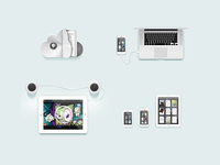 Some Readdle site illustrations