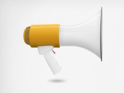 Megaphone icon icon megaphone illustration