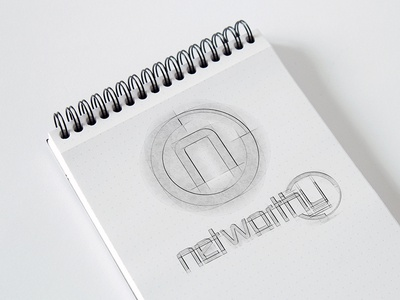 Logo Sketches for Networthy