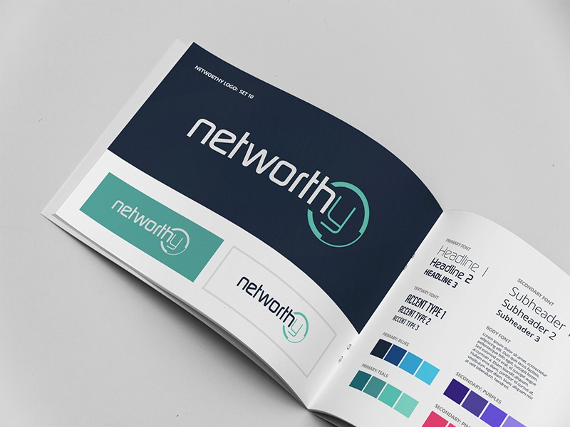 Networthy Style Guide design guidelines branding networthy style guide