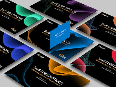 AWS Reinvent Print Collateral