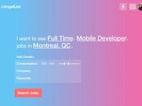 Angellist Jobs Re-Imagined