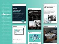 Alkanza Web Redesign