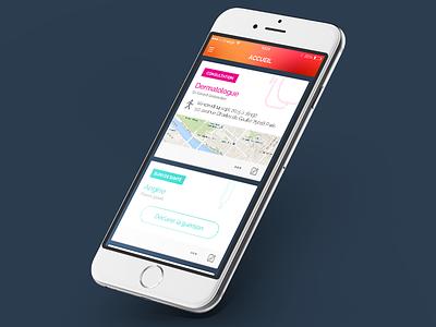 Mieux Vaut Prévenir // Feed paris flatdesign freelance mobile ios app ux interface ui seempl studio
