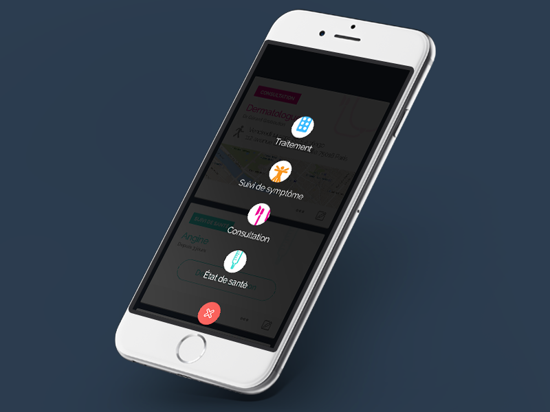 Mieux Vaut Prévenir // Add  freelance mobile paris flatdesign ux ios app interface ui seempl studio