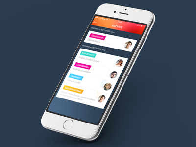Mieux Vaut Prévenir // Feed ios app flatdesign paris freelance ux mobile interface ui seempl studio