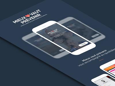 Mieux Vaut Prévenir flatdesign paris freelance ux mobile ios app interface ui seempl studio