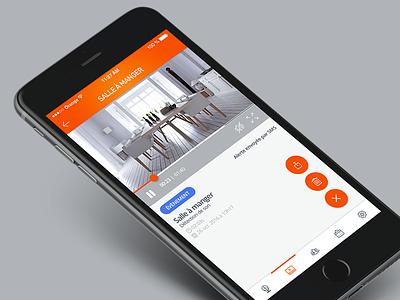 Kiwatch // Lecteur vidéos conception ux ui seempl studio paris freelance flat design design mobile application app
