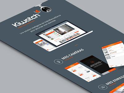 Kiwatch user interface seempl studio ux ui mobile ios interface paris freelance flatdesign app