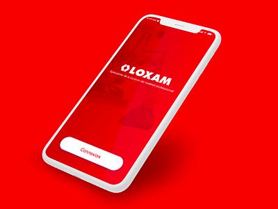 Loxam // Splachscreen paris freelance iphone mobile ios ux app interface ui seempl studio